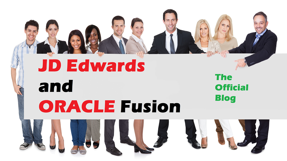 JD Edwards and Oracle Fusion Blog